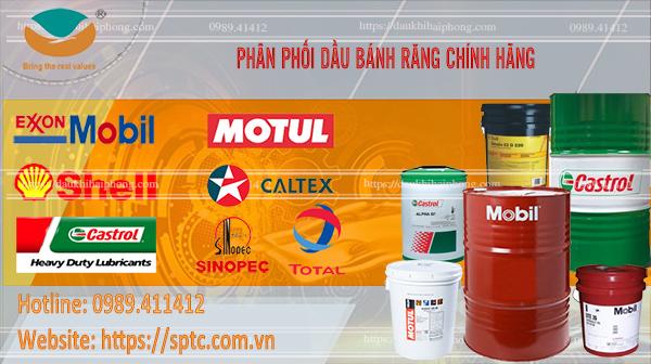 Đại lý phân phối dầu bánh răng