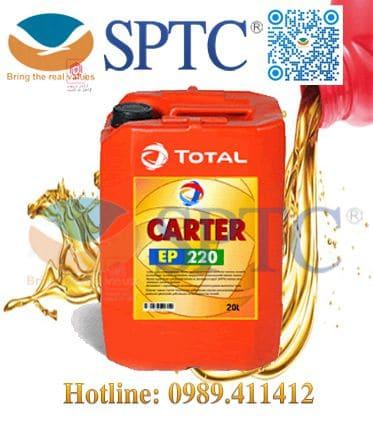 Dầu bánh răng Total CARTER EP 220