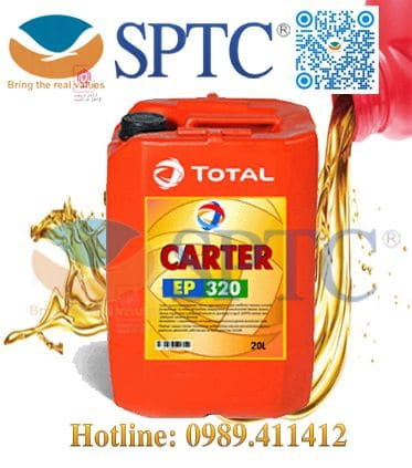 Dầu bánh răng Total CARTER EP 320