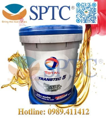 Dầu hộp số TOTAL TRANSTEC 5 85w140